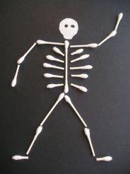 A-Tip Skeleton for bulletin board