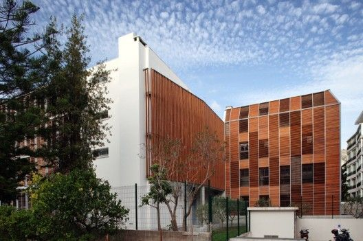 Paul Valery High School / N+B Architectes