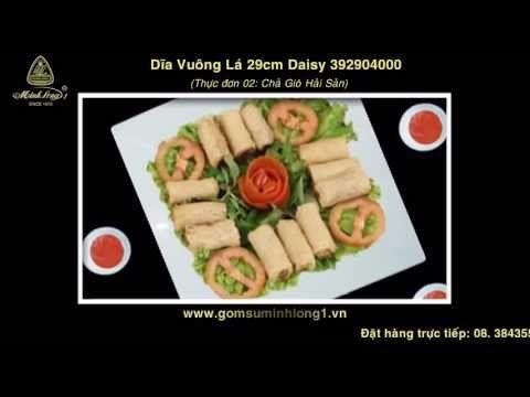 Gốm sứ Minh Long - Bộ bàn ăn đãi tiệc 98sp TDTJR