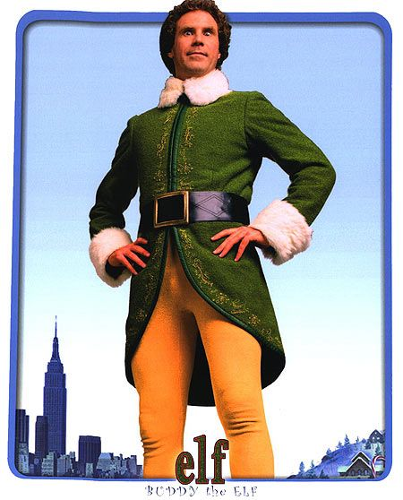"""Elf"" me and brylee watch this every week it's our favorite."