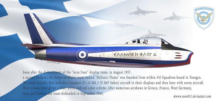 Hellenic Flame F-86 Sabre