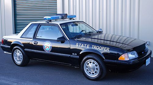 1992 Ford Mustang Notchback Coupe - FHP (Florida Highway Patrol)