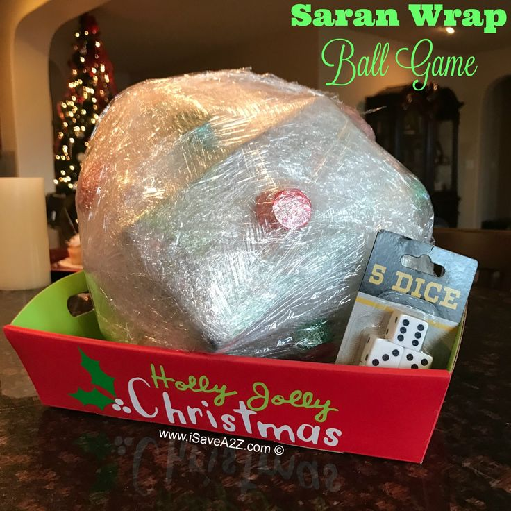 saran wrap ball game rules  ideas holiday party