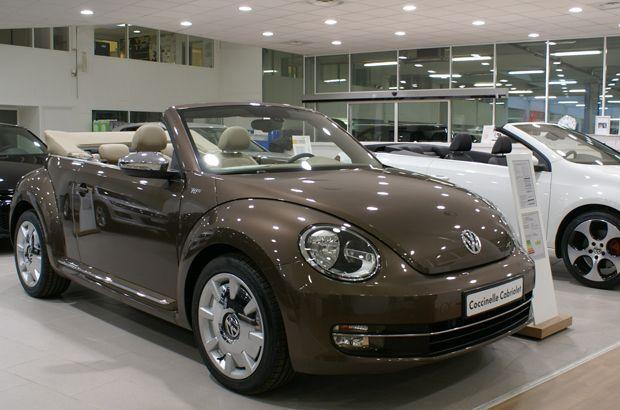 Nouvelle coccinelle cabriolet Volkswagen VCA