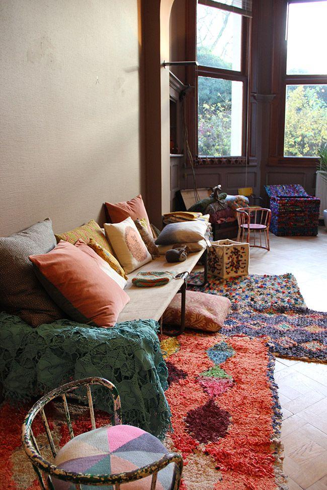 boho sitting room