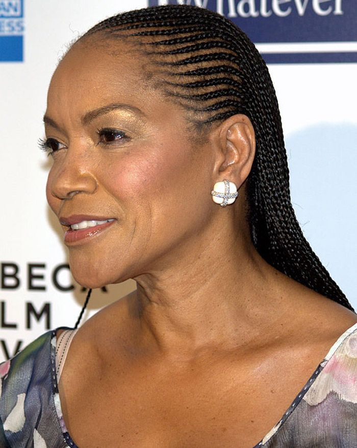Braided Hairstyles For Black Women Over 50 ~ http://wowhairstyle.com ...