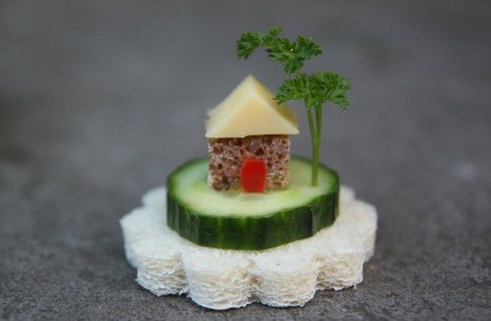 De leukste voedsel creaties die jou en je kinderen aan het lachen maken!