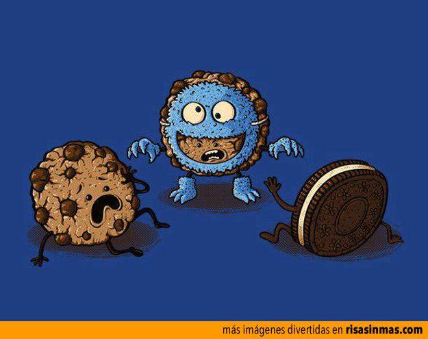 El monstruo de las galletas.