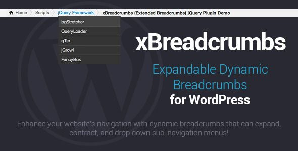 xBreadcrumbs - Expandable Navigation for WordPress - CodeCanyon Item for Sale