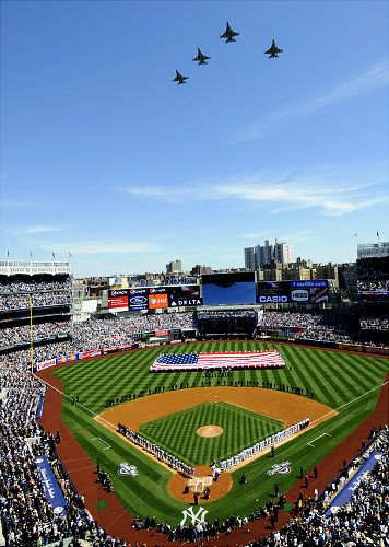 Yankee Stadium  - 10 Things to do in New York City this summer http://www.augustuscollection.com/10-things-new-york-city-summer/