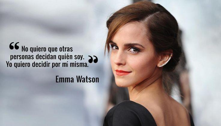 11 frases de Emma Watson que toda mujer debería tener en cuenta. (Foto: Getty Images/Peru.com)