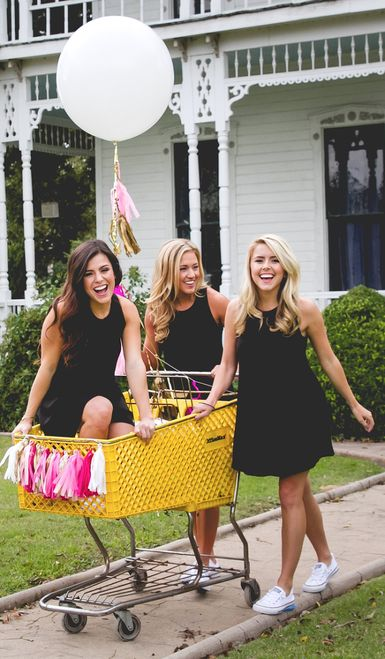Carmen T-Shirt Dress in black sorority | bid-day apparel | trendy Greek apparel | sorority recruitment | sorority recruitment outfits | spring recruitment | Greek life