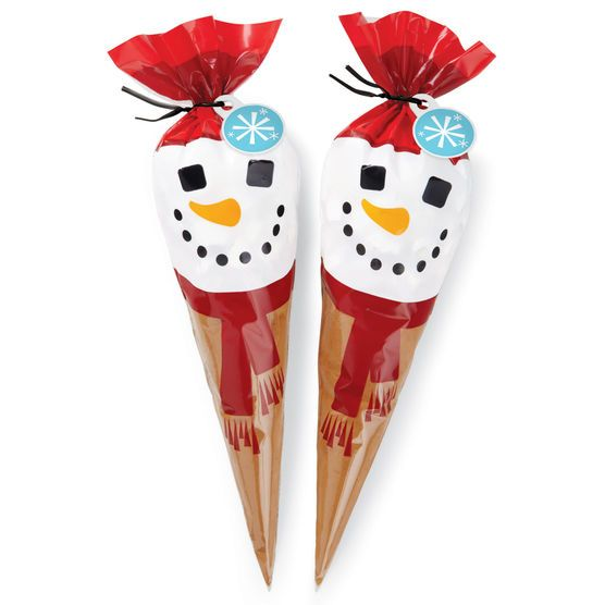 Wilton Shaped Party Bags Coco Cone Snowman At Joann Com