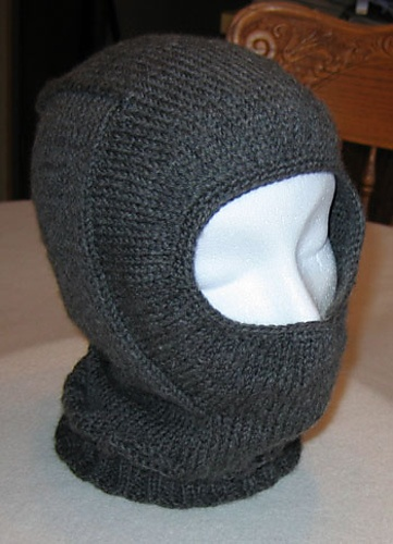 Balaclava Knitting Pattern Straight Needles : The 25+ best Knitted balaclava ideas on Pinterest Knitted hat patterns, Kni...