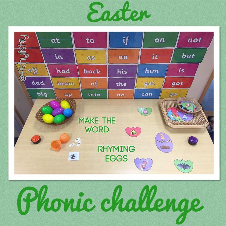 Easter phonic challenge