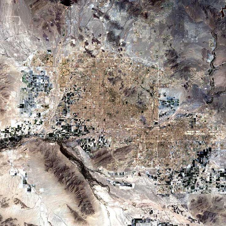 satellite view, Phoenix