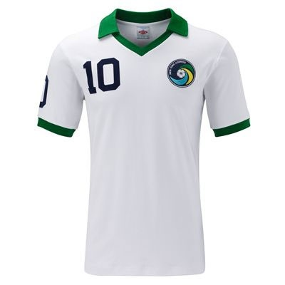 New York Cosmos 1977 PELE #10 Retro Shirt by Umbro - £34.99