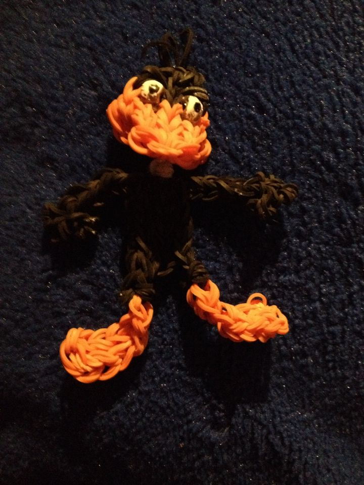 Daffy Duck from YouTube made by my daughter