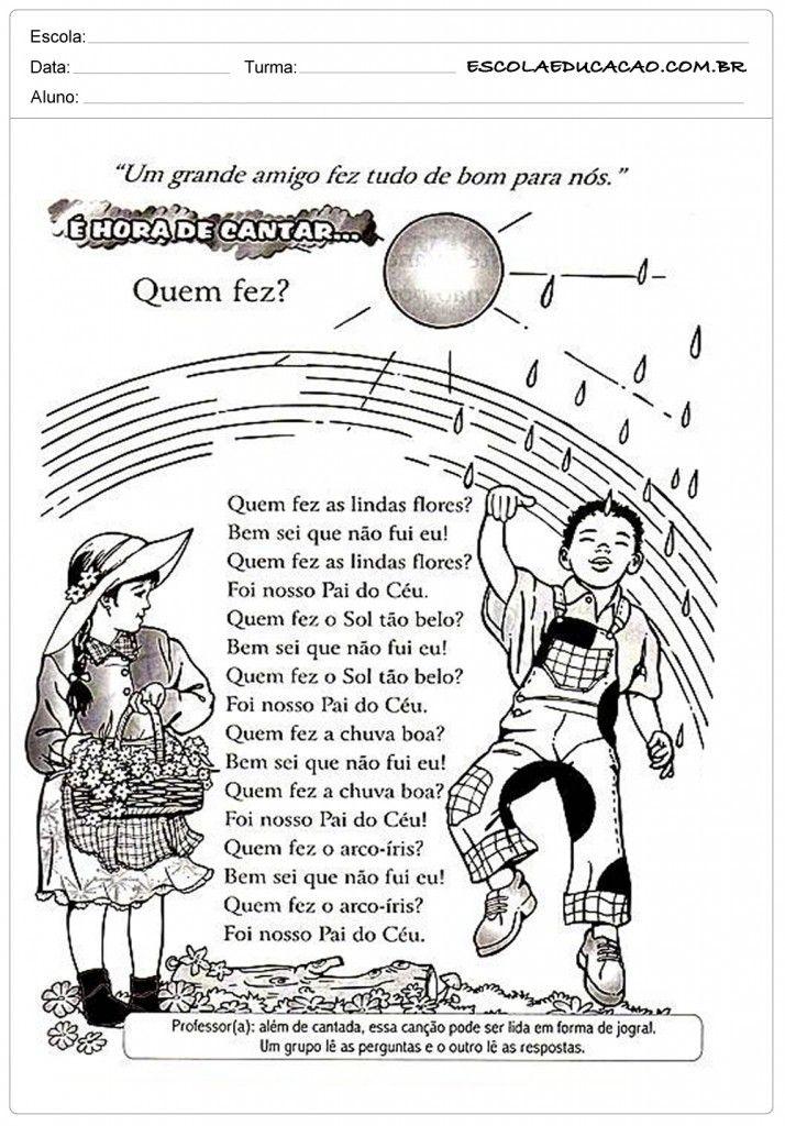 Pin Em Historias E Textos Escolares