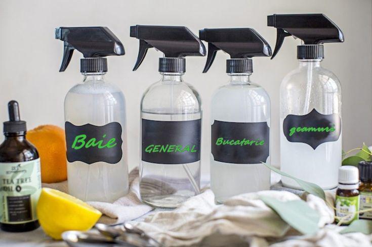 Produsele de curățenie clasice îți provoacă alergii? Ingredientele MINUNE cu care îți vei curăța casa - Exquis