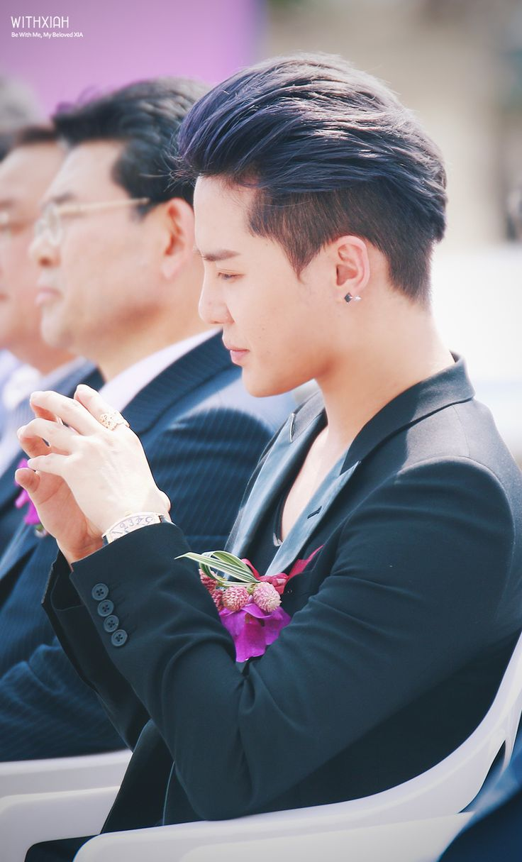 Kim Junsu at Toscana Hotel's Grand Opening Ceremony (140927) #Xia