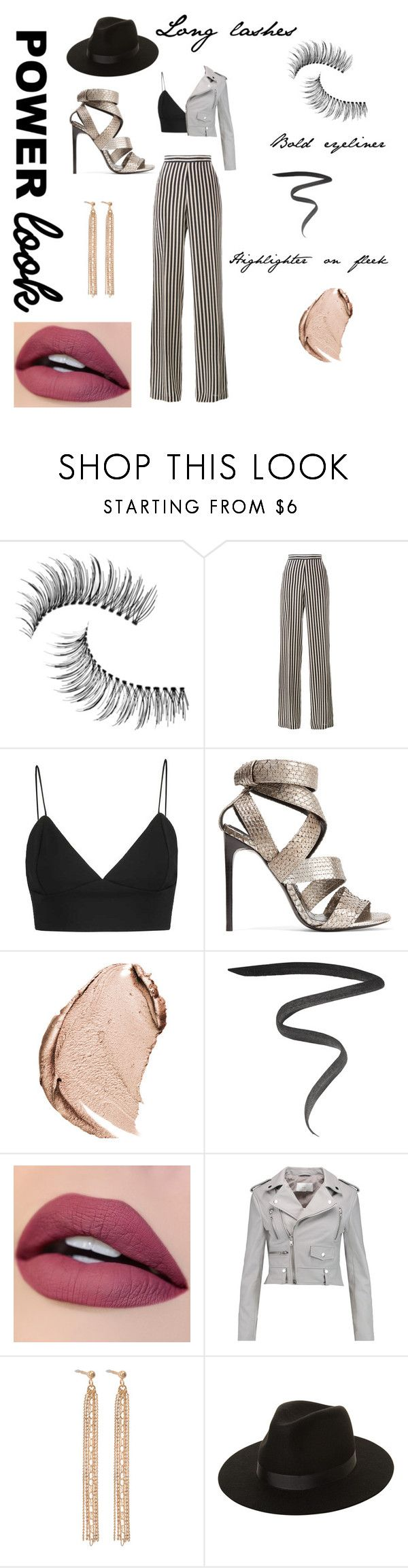 """""""My power look"""" by anamariahodinet on Polyvore featuring Trish McEvoy, Etro, Tom Ford, Christian Dior, Marc Jacobs, W118 by Walter Baker, Ginette NY and Lack of Color"""