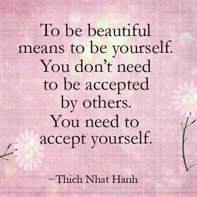 Beautiful quote by Thich Nhat Hanh.. share it with anyone you love and respect.