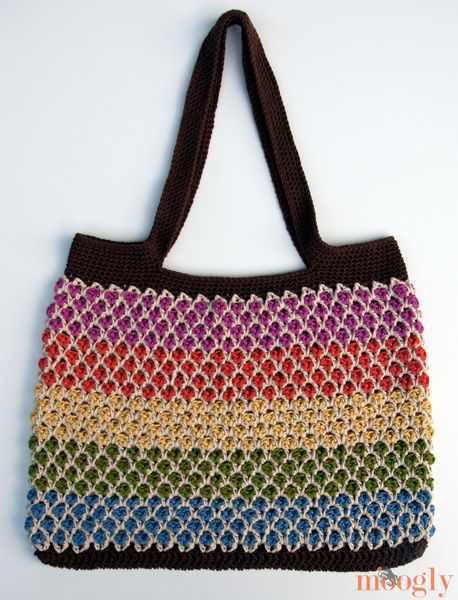 158 Best Crochet Bag Patterns Images On Pinterest Crocheted Bags