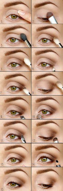 Wrzosowisko- MakeUp Blog: Mój codzienny makijaż- na każdą okazję. Step by step