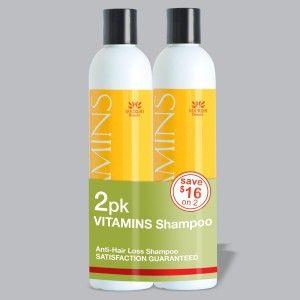 7. 2 Pac Vitamins Anti Hair Loss Shampoo