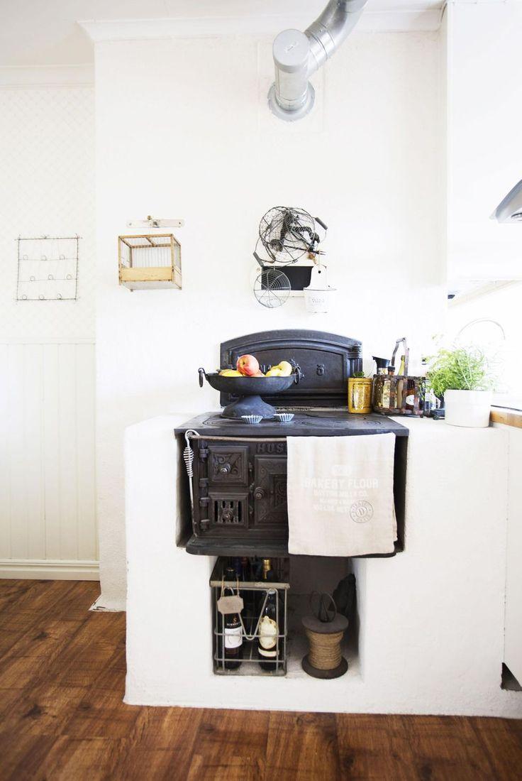148 best — woodstove — images on Pinterest | Wood stoves ... : gamla vedspisar : Inredning