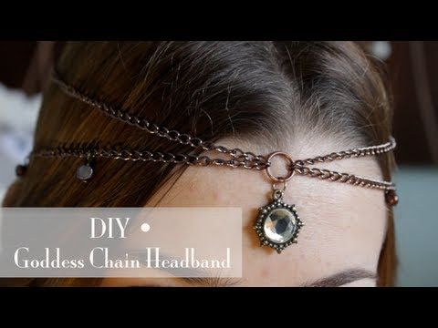 DIY • Goddess Chain Headband, My Crafts and DIY Projects