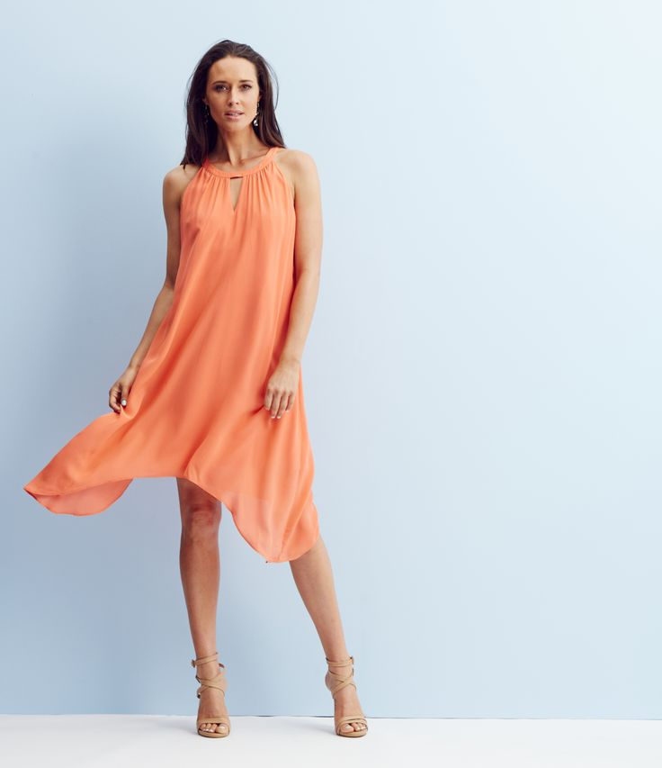Flattering and feminine, the trapeze dress will take you from day to evening and poolside to party in style.