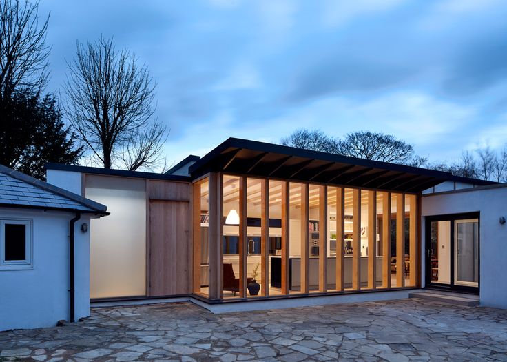 TDO adds boxy plywood-framed extension to Windsor cottage