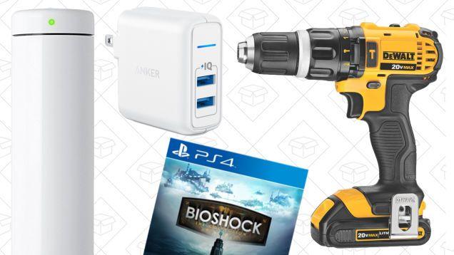 Todays Best Deals: Joule Sous-Vide BioShock Collection DEWALT Drill and More