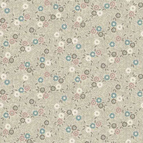 TP-1694-Q Flower Scroll Cream from Makower