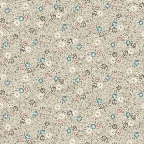TP-1694-Q Flower Scroll Cream from Makower