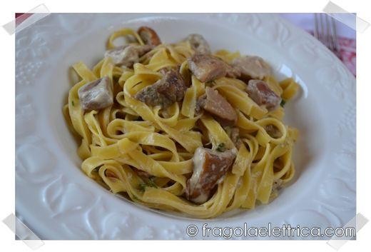 TAGLIATELLE AI FUNGHI PORCINI fragolaelettrica.com Le ricette di Ennio Zaccariello #Ricetta
