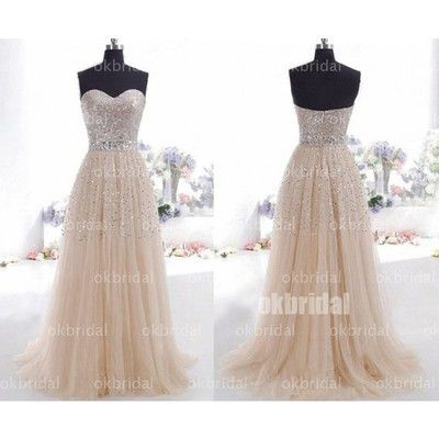 Tulle A line prom dresses, prom dresses online, discount prom dresses, dresses for prom, elegant prom dresses, 17106