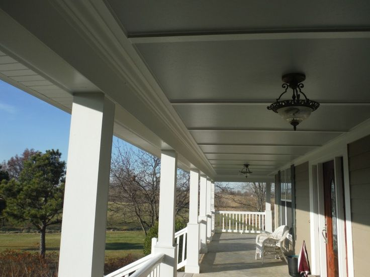 Hardie Smooth Panel W Hardie Crown Porch Ceilings