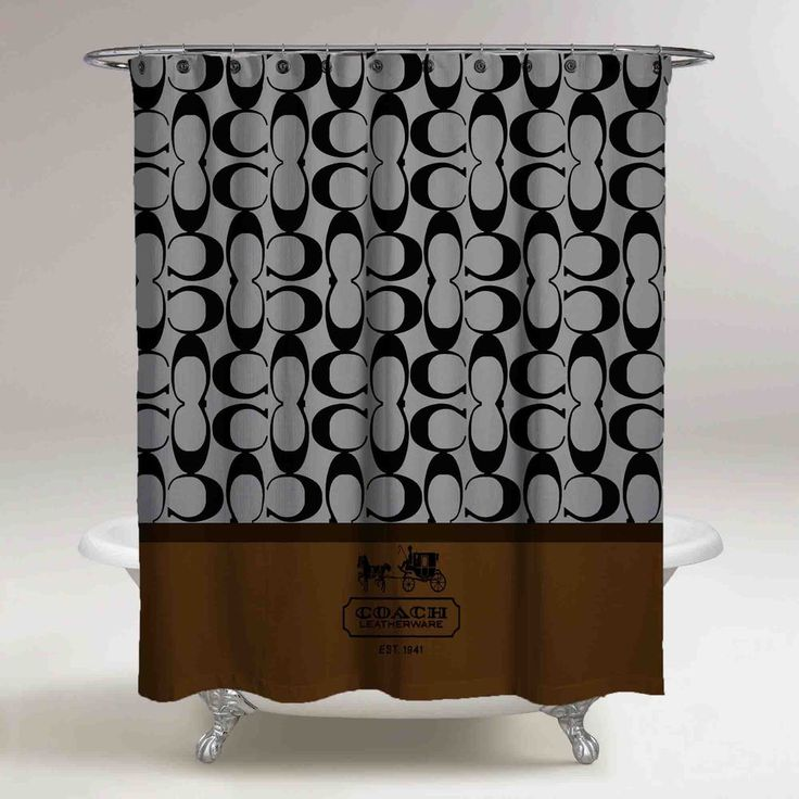 New Hot Sell Coach Brown Logo Custom Shower Curtain 60 x 72 Limited Edition #Unbranded #Modern #showercurtains #bathroom #accessories #polyester #cheap #new #hot #rare #best #bestdesign #luxury #elegant #awesome #bath #newtrending #trending #bestselling #sell #gift #accessories #fashion #style #women #men #kid #girl #birthgift #gift #custom #love #amazing #boy #beautiful #gallery #couple #bestquality