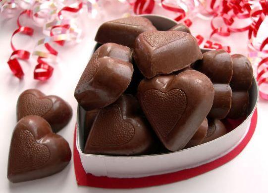 chocolate valentine resep
