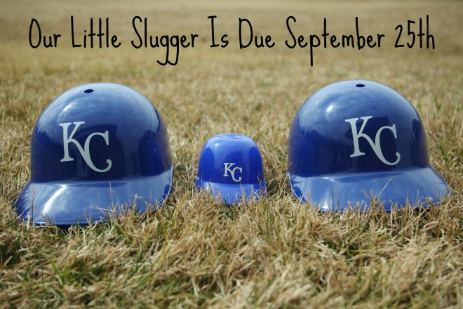 Royals Baseball Pregnancy Announcement:  I'm doing this. Fo. Sho.