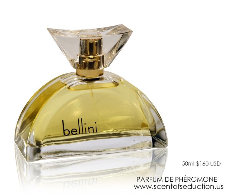 bellini Parfum de Phéromone - warm, earthy and sweet -  soft yet strong, pure yet seductive our signature fragrance.   www.scentofseduction.us