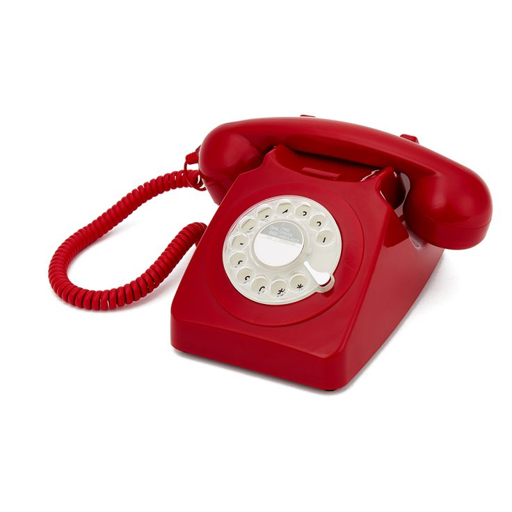 Buy GPO Retro 746 Rotary Dial Telephone - Red here at Zavvi. We have great prices on Games, Blu-rays and more; as well as free delivery available!