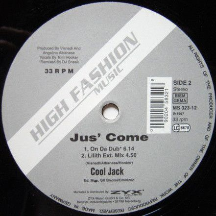Cool Jack - Jus' Come