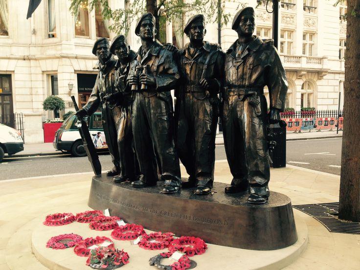 Memorial RNZAC Military, London