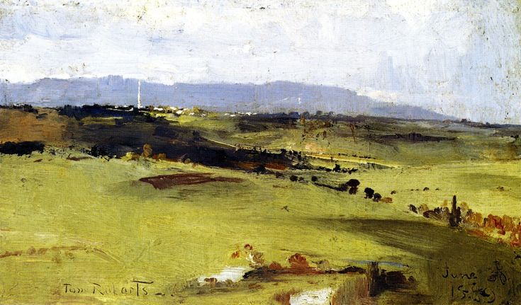 The Athenaeum - Across to the Dandenongs (Tom Roberts - )