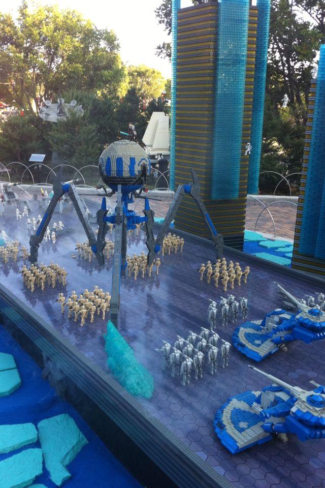 Lego Star Wars 3 - The Clone Wars! Legoland Ca