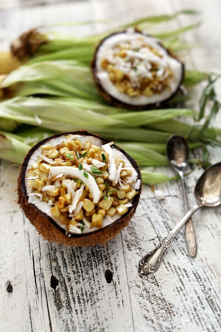 corn  coconut thai street food http://terrysamui.wordpress.com/
